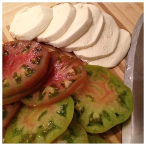 Heirloom Tomatoes & Mozzarella
