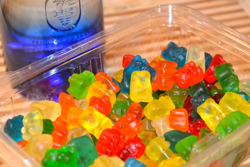 Gummy Bears & Ciroc Vodka