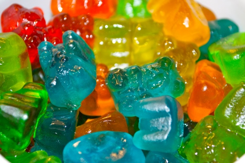 Vodka Soaked Gummy Bears