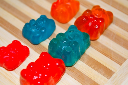 Fat Gummy Bears Ready For Consumption
